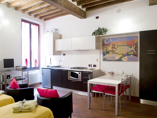 Appartamento ammobiliato ad uso Turistico centro storico Parma.