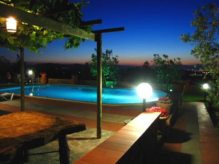 depandance  colline di firenze con piscina